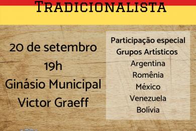 Show Tradicionalista: ponto alto dos Festejos Farroupilhas acontece nesta sexta-feira