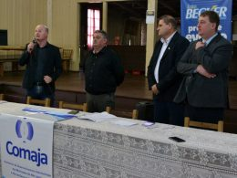Prefeito Cláudio Alflen participa de assembleia do COMAJA em Selbach