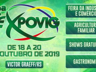 12ª Expovig terá dois palcos para programação cultural e shows gratuitos