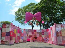 """Outubro Rosa: ação """"Crie laços com a vida"""" mobiliza mulheres victorenses"""