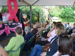 12ª Expovig contou com palestra em alusão ao Outubro Rosa