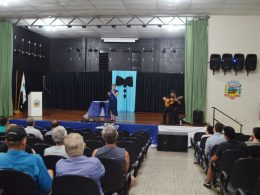 Secretaria de Saúde promoveu palestra em alusão ao Novembro Azul no Centro de Eventos