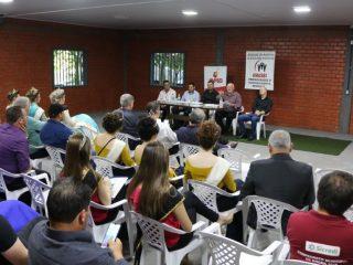 Prefeito Cláudio Alflen participa de reunião entre Amasbi e Avasb em Mormaço