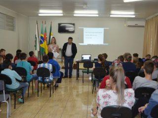 Secretaria Municipal de Educação promoveu palestras sobre Educação Fiscal e o Programa Nota Fiscal Gaúcha