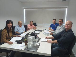 Prefeito Alflen participa de reunião na CCR ViaSul em Porto Alegre