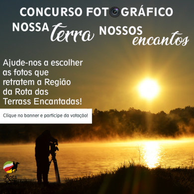"""Concurso fotográfico """"Nossa Terra, Nossos Encantos"""" abre votação na internet"""