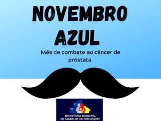 Secretaria Municipal de Saúde e Assistência Social promove ações em alusão ao Novembro Azul