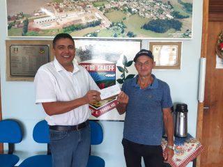 Ganhadores de novembro do Programa Nota Fiscal Gaúcha retiram seus prêmios