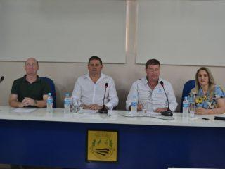 Prefeito Cláudio Alflen participou de assembleia do COMAJA em Saldanha Marinho