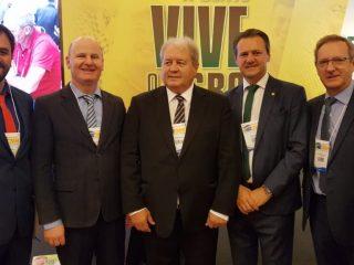 Prefeito Cláudio Alflen participa do lançamento da Expodireto Cotrijal 2020 em Brasília
