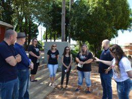 Turismo: Mais Bela Praça e Quiosque do Sabor recebem diretores da CVC