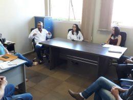 Executivo e Secretaria Municipal de Saúde discutem sobre ações de enfrentamento contra o coronavírus