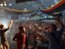 Confira os registros do segundo dia do 19º Festival Nacional da Cuca com Linguiça