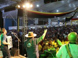 Sucesso de público: mais de 20 mil pessoas passaram pelo festival na quinta-feira