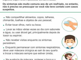 Secretaria Municipal de Saúde realiza trabalho de prevenção contra o coronavírus