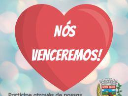 """Administração Municipal lança campanha """"Nós venceremos"""""""