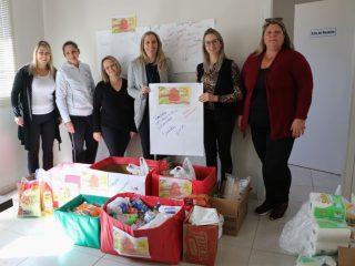 CRAS recebe doações de alimentos e materiais de limpeza e higiene