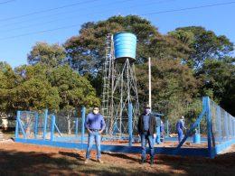 Finalizada construção da rede de água na comunidade do Cotovelo do Jacuí