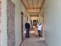 Avançam obras no prédio do antigo PADU