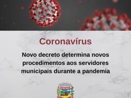 Prefeito Cláudio Alflen assina decreto que determina novos procedimentos aos servidores municipais durante a pandemia