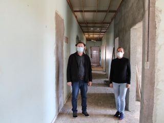 Prefeito visita obras no prédio do antigo PADU