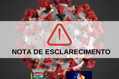 Secretaria Municipal de Saúde emite nota de esclarecimento