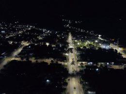 Perímetro urbano de Victor Graeff conta com iluminação pública 100% em LED