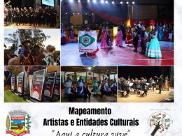 Prefeitura de Victor Graeff promove cadastro de artistas e entidades culturais