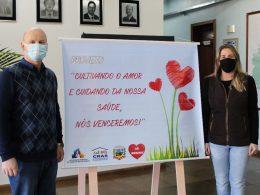 """Administração Municipal apoia o projeto """"Cultivando o amor e cuidando da nossa saúde, nós venceremos"""""""