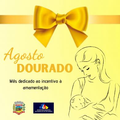 Secretaria Municipal de Saúde apoia campanha Agosto Dourado