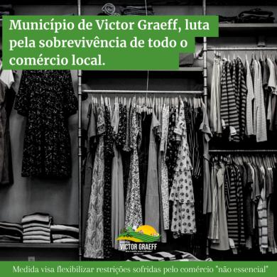 Victor Graeff luta pelo comércio local