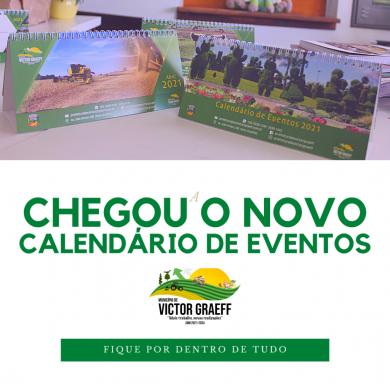 Calendário de Eventos 2021