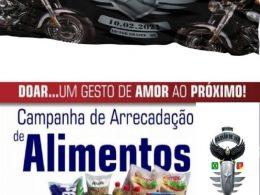 Moto Grupo Brasão de Aço realizará ação beneficente