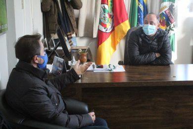Deputado Sérgio Turra visita Victor Graeff