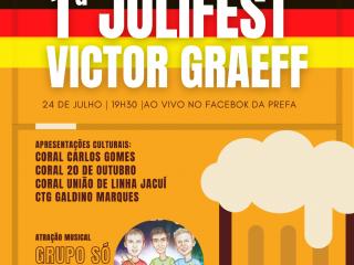 1ª JULIFEST ACONTECERÁ EM VICTOR GRAEF