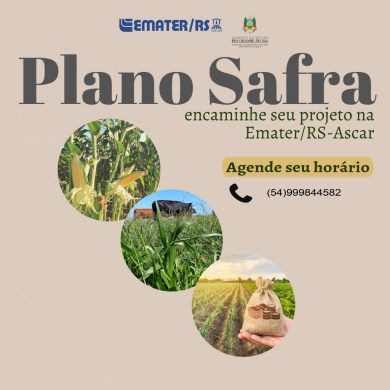Plano Safra 2021-2022 EMATER/RS