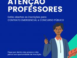 Processo Seletivo e Concurso Público com inscrições abertas