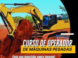 Curso de Operadores de Máquinas Pesadas